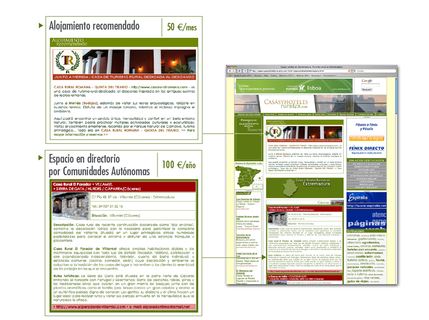 Dise o de p ginas web para casas rurales directorio de - Paginas de casas rurales ...